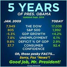 Obama - 5 Years