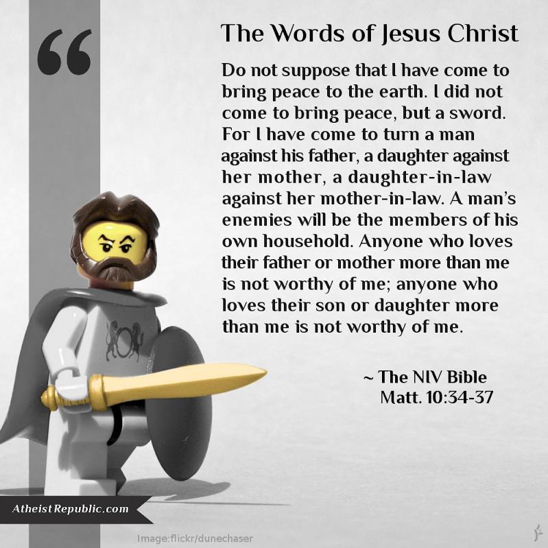 Matthew 10_34-37